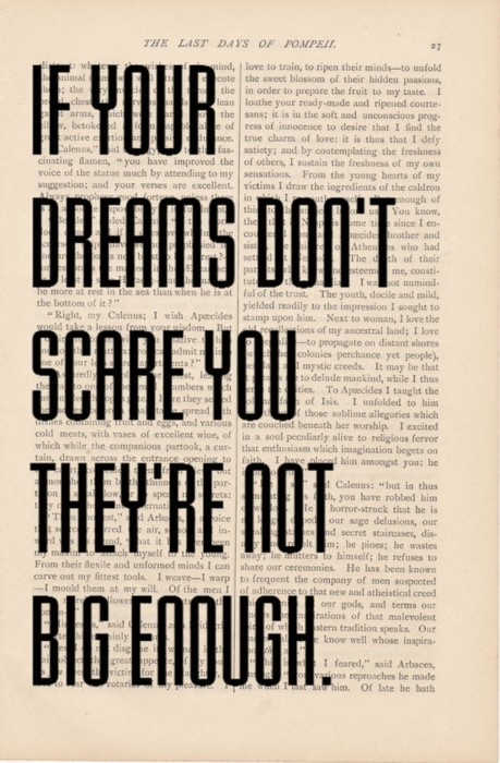 if your dreams don't scare you