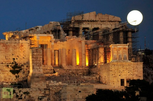 Acropolis blue moon